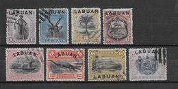 Labuan N°48/56 - Oblitérés - TB - Asia (Other)