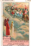 "S1227- CHROMO LIEBIG - 1929 -  "" DANTE LA DIVINE COMEDIE III. PARADIS "" : 5. LA SAINTE MILICE - Liebig"
