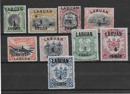 Labuan N°95/103 - Neufs Sans Gomme - TB - Stamps