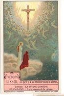 "S1227- CHROMO LIEBIG - 1929 -  "" DANTE LA DIVINE COMEDIE III. PARADIS "" : 3. LES MARTYRS - Liebig"