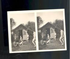 Photo Woman Femme Nue Nu Nude Stereo Stereoview Adolf Koch Naturisme Naturist Fkk - Beauté Féminine (1941-1960)