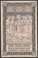 Gravin De  Courcij Serainchamps-gent 1825-lophem 1912 - Devotieprenten