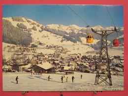Visuel Très Peu Courant - Suisse - Zweisimmen - Gondelbahn - Scans Recto Verso - BE Bern