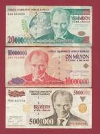 Turquie 10 Billets (Sign #) Dans L 'état - Turkije