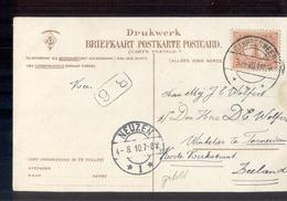 Garrelsweer Langebalk Neuzen 1 - 1910 - Marcofilia
