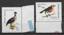Argentine N°941/942 - Oiseaux - Neuf ** Sans Charnière - TB - Argentina
