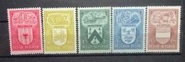 BELGIE 1946    Nr. 743 - 747   Postfris **    CW  19,00 - Bélgica