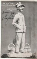 TOURNAI - Maurice De Roux, Statuaire - Tournai 1915 ( Undes Types) Ilnous A Fait Avoir Faim - Doornik
