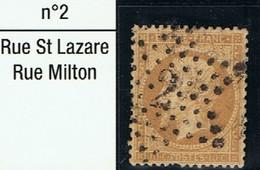 N°21 Etoile 2 Belle Frappe Une Dent Courte - 1862 Napoléon III