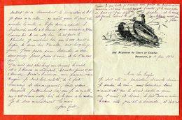14 18 BESANCON 1932 506 ème Régiment De Chars De Combat Illustration Papier à Lettre Très Bon Etat - 1914-18