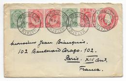 SOUTH AFRICA - 1916 - ENVELOPPE ENTIER De MATATIELE (TRANSVAAL) => PARIS - Briefe U. Dokumente