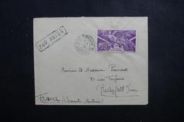 A.O.F. - Enveloppe De Bobo Dioulasso Pour Rochefort/ Mer En 1946 , Affranchissement Victoire - L 49542 - Cartas