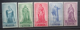 BELGIE 1947    Nr. 751 - 755      Postfris **   CW 62,50 - Belgique