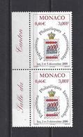Monaco: 2229 **  (2x) - Ongebruikt