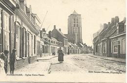 Oude Postkaart POPERINGHE - Eglise Notre-Dame - Poperinge