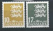 Danemark 2006 N°1424/1425 Neufs Armoiries - Dänemark