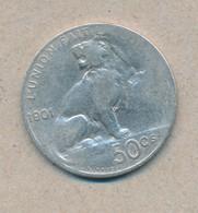 België/Belgique 50 Ct Leopold II 1901 Fr Morin 192 (160642) - 1865-1909: Leopold II