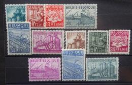 BELGIE 1948    Nr. 761 - 766 / 767 - 772     Postfris **    CW  73,00 - Bélgica
