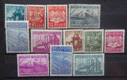 BELGIE 1948    Nr. 761 - 766 / 767 - 772     Scharnier *     CW  18,50 - Belgique