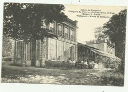 Cpa   Vallée De Chevreuse  Orangerie Du Parc  .LOZERE  (Seine.et.Oise) Maison G. PINON  Restaurant .Noces Et Banquets - Autres Communes