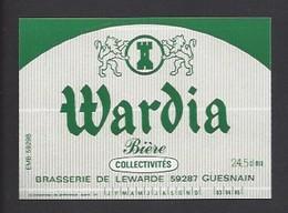 Etiquette De Bière   -  Wardia  -  Brasserie De Lewarde   (59) - Beer