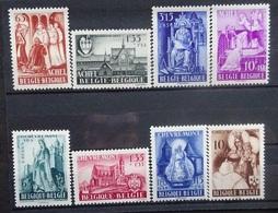 BELGIE 1948    Nr. 773 - 776 / 777 - 780      Postfrs **    CW  35,00 - Bélgica
