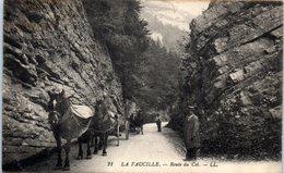 01 La Faucille - Route Du Col - Attelage  - Edition LL     * - Gex