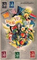 3 Dec 1938 Serie Kinderzegels En Gelegenheidsstempel Op Biljet VOOR HET KIND - Lettres & Documents