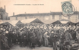 ¤¤  -  L'HERBERGEMENT   -  La Place Du Marché   -  ¤¤ - Frankreich