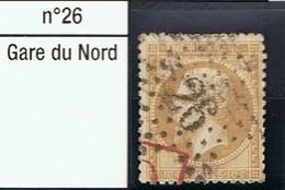 N°21 Etoile 26 Belle Frappe Beau Timbre - 1862 Napoléon III