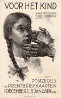 Dec 1941 T/m 5 Januari 1942  VERBODEN Affiche  VOOR HET KIND Met Bijbehorend Artikel G Holstege - Lettres & Documents
