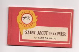 CARNET 10 CPA SAINT JACUT DE LA MER - (Editions LE CIGONNE)- - Saint-Jacut-de-la-Mer