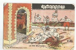 Militaire Humour Ecrite 21eme Dragons 1er Escadron Saint Omer La Corvée Du Fumier - Humoristiques