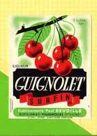 Etiquette GUIGNOLET Surfin Cerises - Fruits & Vegetables