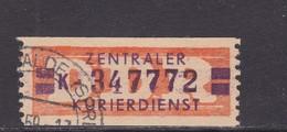 ZKD Wertstreifen Dienstmarken-B Michel Nr. 23 K - Servizio