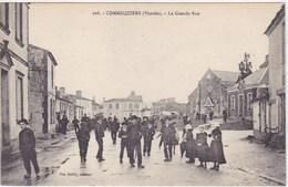 Vendée - Commequiers - La Grande Rue - Frankreich