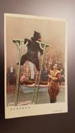 China. Perking Circus. Bear Trainer - Circus