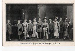 CURIOSITE * ROYAUME DE LILLIPUT * PARIS * SOUVENIR * Cirque - Celebridades