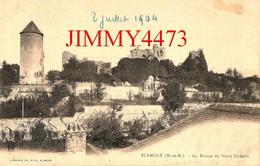 CPA - BLAMONT - Vue Générale Et Ruines Du Vieux Château En 1904 - 54 Meurthe Et Moselle - N°64 - Edit. Lib. Ch. FEYS - Blamont