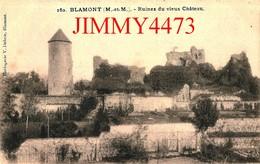 CPA - BLAMONT - Ruines Du Vieux Château 54 Meurthe Et Moselle - N°160 - Edit. Horlogerie V. Debrie - Blamont