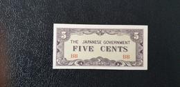 5 Cents -Japanese Government Birmanie (1942-1944:UNC/NEUF) - Japon