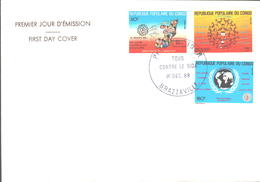 Tous Contre Le Sida 1988 - FDC