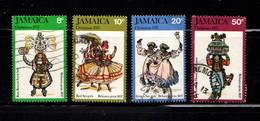 JAMAICA    1975    Christmas    Set  Of  4    USED - Jamaica (1962-...)