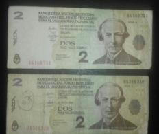 ARGENTINE Et EQUATEUR PESOS - Equateur