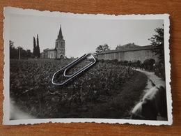 GIRONDE VIRSAC WW2 EGLISE DE SAINT GENES SAINT ANDRE DE CUBZAC  GUERRE 39 45 CONVOI SOLDATS ALLEMANDS EN 1941 BLAYE - France