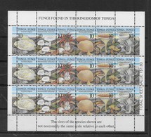Serie De Tonga Nº Yvert 1103/08 ** SETAS (MUSHROOMS) - Tonga (1970-...)