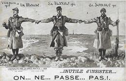 Illustrateur, CARREY, On Ne Passe Pas, Scan Recto-Verso - Illustratori & Fotografie