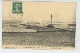 PALAVAS LES FLOTS - Vue De La Mer Par Mauvais Temps - Palavas Les Flots