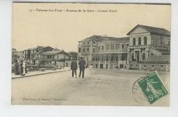 PALAVAS LES FLOTS - Avenue De La Gare - Grand Hôtel - Palavas Les Flots