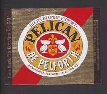 Etiquette De Bière De Blonde -  Pélican  Brasserie  Pelforth à Lille   (59) - Beer